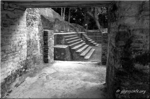 Cahal Pech Courtyard Entrance